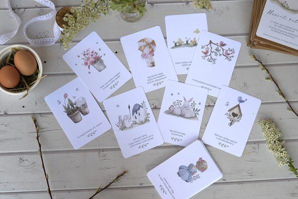 húsvéti élménykártyák